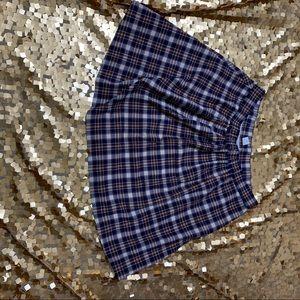 Vintage plaid JCrew skirt